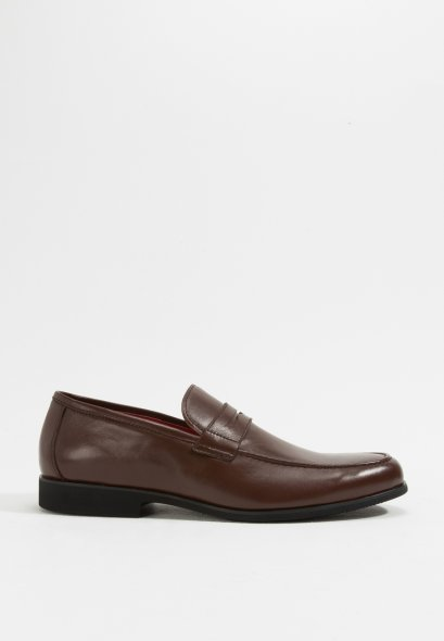 Men's Taylor Loafers in Genuine Grained Soft Leather Business Shoes
