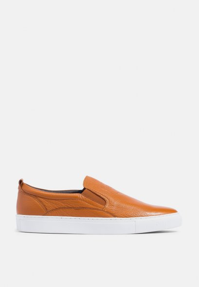Mac & Gill Laurel Wreath Slip-On Shoes In Genuine Leather For Casual Wear