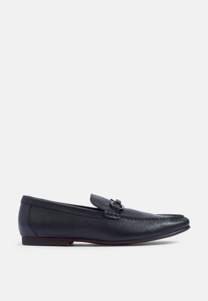Grained Leather Bit Loafers รองเท้าโลฟเฟอร์  รองเท้าหนังแท้ MAC and GILL