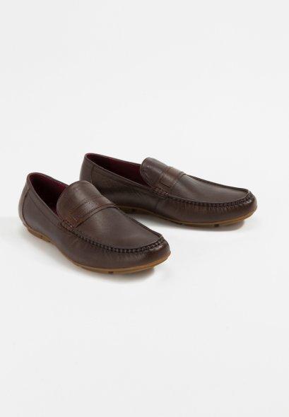 รองเท้าหนังแท้แบบโลฟเฟอร์ Santino Loafers in Genuine Cow Hide Leather Original