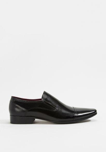 รองเท้าหนังแท้แบบสวมทางการและออกงาน Austin Leather Business Classic Shoes