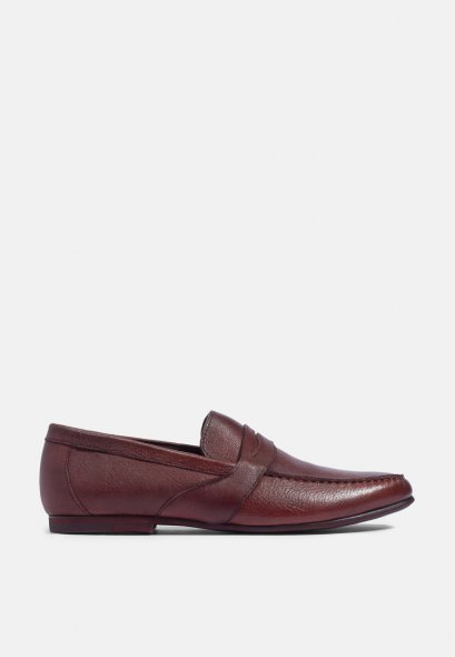 ANDY LEATHER LOAFERS SHOES FULL GRAINED