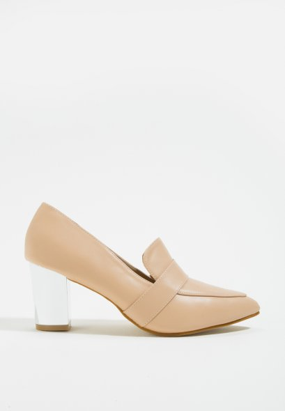 Mac & Gill Jianna Stacked Heels-biege