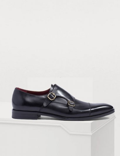 GALLARDO MONKSTRAP LEATHER SHOES -  Mac and Gill