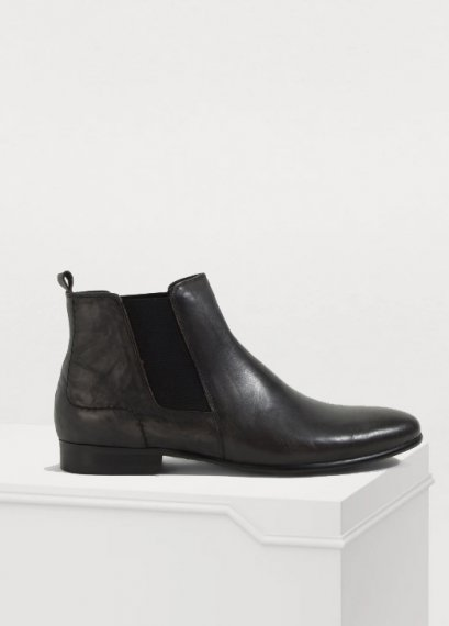 CHELSEA LEATHER ANKLE BOOTS in original leather