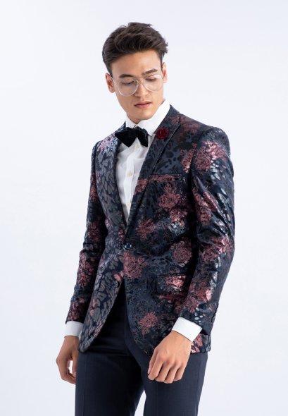 Mac & Gill เสื้ื้อสูท Classic Rose SLIM FIT CUT BLAZER CASUAL WEAR