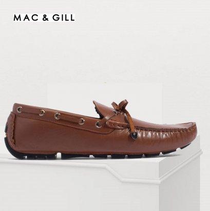 รองเท้าผู้ชายหนังแท้แบบสวม Style Driving Moccasins Leather Shoes