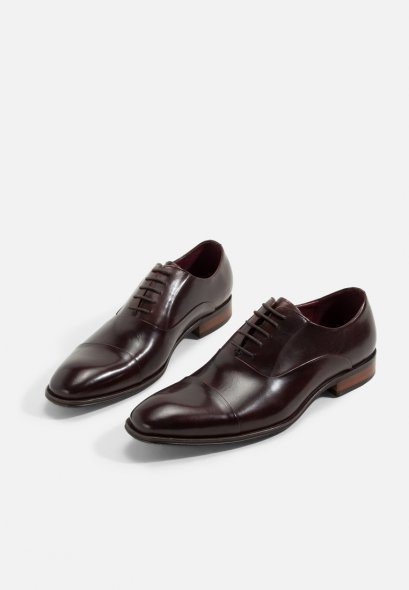 BROWN OXFORDS LEATHER SHOES SANDIEGO GOODYEAR WELTED