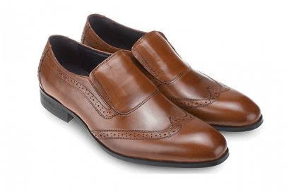Oxfords Leather Loafers in Brown business shoes
