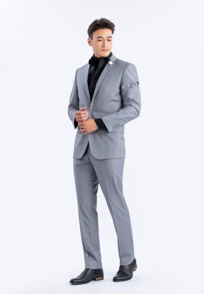 Mac & Gill Royal Classic Suit slim fit Cut And Trousers Set in GREY