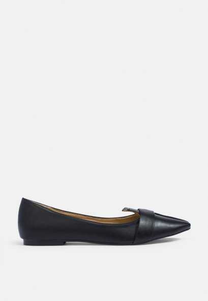 Mac & Gill Pointy Front Strap Flats VERA Ballet