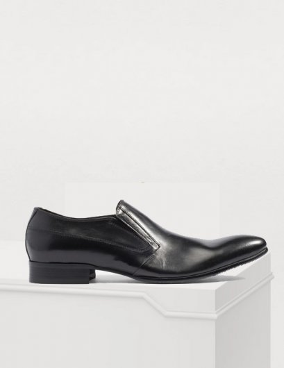 DOVER WINGTIP LEATHER LOAFERS