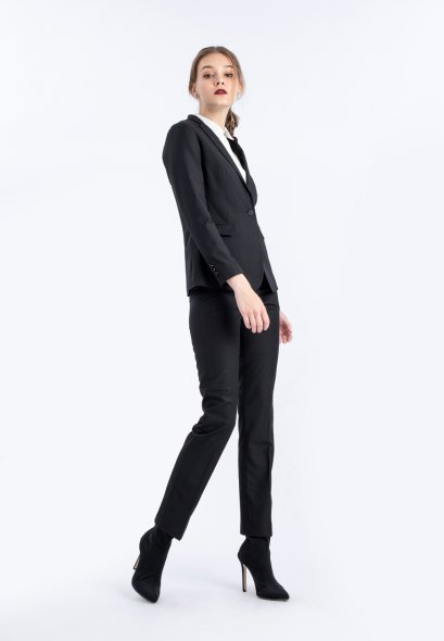 Mac & Gill Classic Royal BLACK Suit And Trousers Set