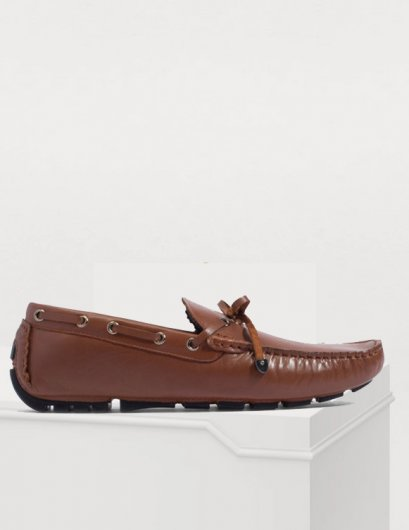 LEATHER DRIVING MOCCASINS SHOES