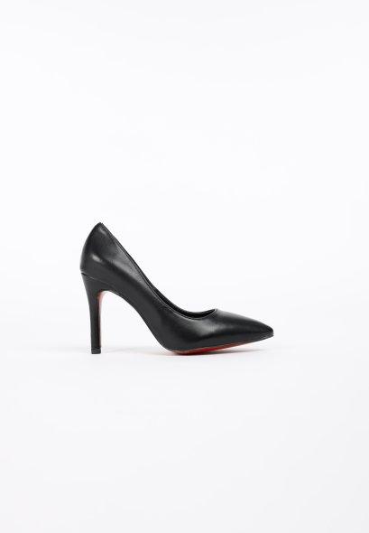 รองเท้าส้นสูง ดีไซน์หัวแหลม Caldora High Heels MAC & GILL in Black