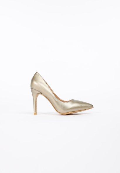 รองเท้าส้นสูง ดีไซน์หัวแหลม Gold Caldora High Heels MAC & GILL