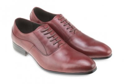 OXFORD LEATHER LACE UP SHOES