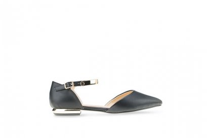 Rebecca Pointed Toe Sandal - Black