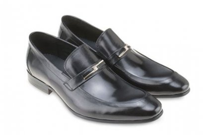 MAC & GILL Leather Moc Toe Slip On Loafer Classic Dress shoes