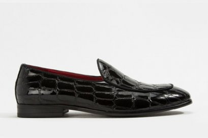Patent LEATHER LOAFER SHOES MAC & GILL