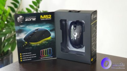 Sharkoon SHARK ZONE M52 Gaming laser mouse RGB