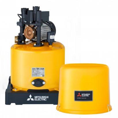 """MITSUBISHI ปั๊มน้ำอัตโนมัติ 1"""" WP-155R 150 วัตต์ (ถังกลม)   ปั้มน้ำ เครื่องปั๊มน้ำอัตโนมัติ"""