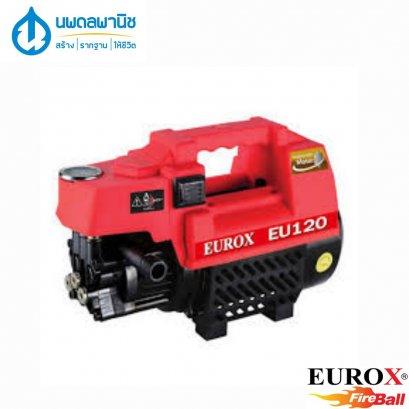 EUROX เครื่องฉีดน้ำแรงดันสูง 120 บาร์ รุ่น E120
