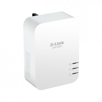 D-Link DHP-600AV PowerLine AV2 600 Gigabit Adapter