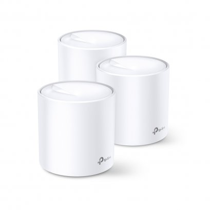 TP-LINK Deco X60 AX3000 Whole Home Mesh Wi-Fi System Pack 3