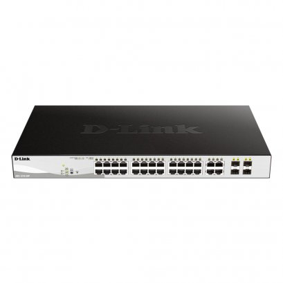 D-Link DGS-1210-28P 24 Ports Gigabit PoE Switch