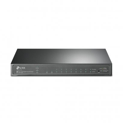 TP-LINK T1500G-10PS (TL-SG2210P) JetStream 8-Port Gigabit Smart PoE Switch with 2 SFP Slots