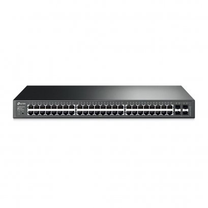 TP-LINK T1600G-52TS JetStream 48-Port Gigabit Smart Switch with 4 SFP Slots