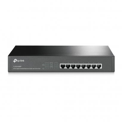 TP-LINK TL-SG1008MP 8-Port Gigabit Desktop/Rackmount Switch with 8-Port PoE+