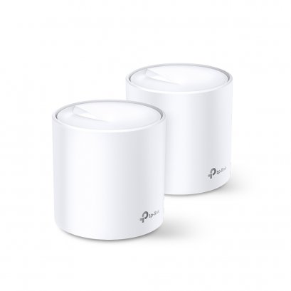 TP-LINK Deco X20 AX1800 Whole Home Mesh Wi-Fi System Pack 2