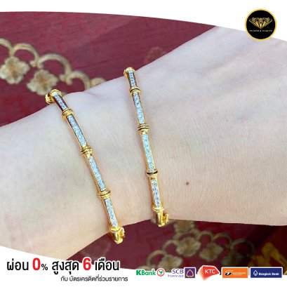 Big bangle line premium diamond B0005G18KPW