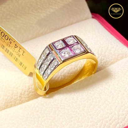 The four focus diamond man ring R0024G18KPW