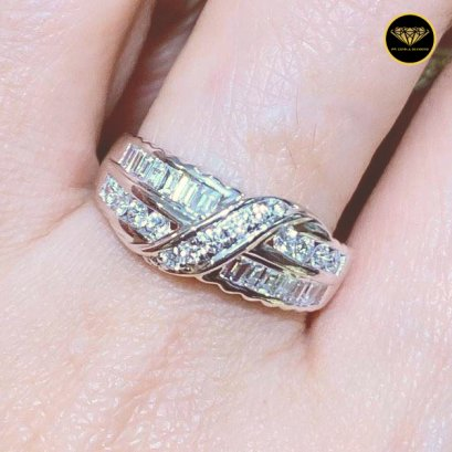 The Cross line girls diamond ring R0037G18KPW