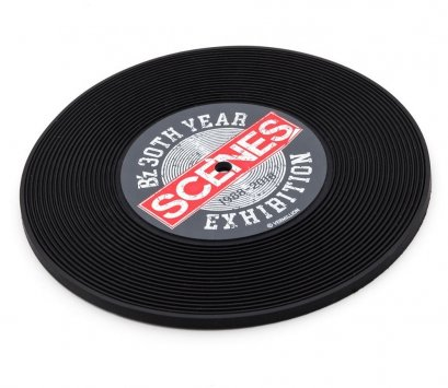 Vinyl Record Soft PVC Coaster