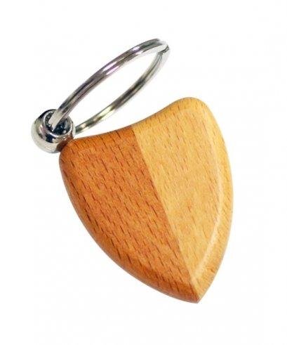 พวงกุญแจไม้