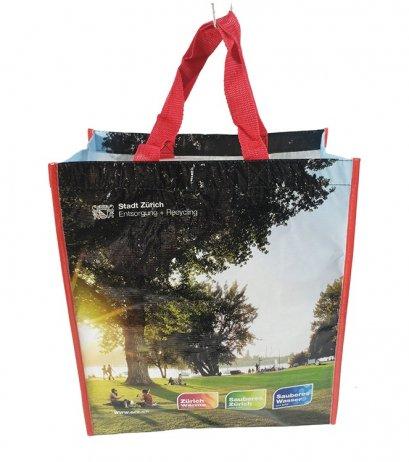 กระเป๋าผ้าสปันบอนด์ พิมพ์ 4 สี
