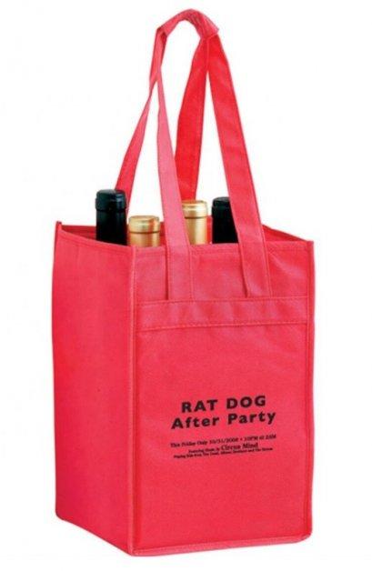 Spunbond Wine Bottle Bag