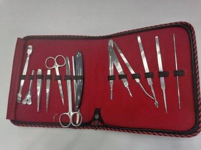 ชุดเครื่องมือผ่าตัดเล็ก 14 ชิ้น