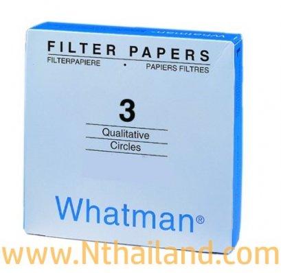 กระดาษกรอง FILTER PAPERS Whatman No.3