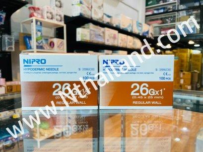 เข็มฉีดยา(NIPRO) เบอร์ 26