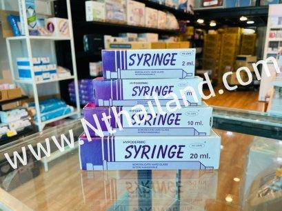 Syringe แก้ว (HIVAN) ขนาดต่างๆ