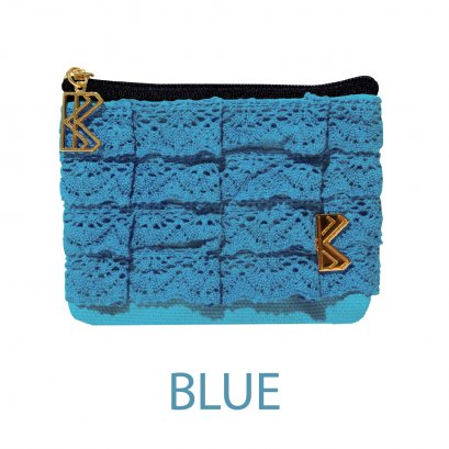 Lace skirt coin bag