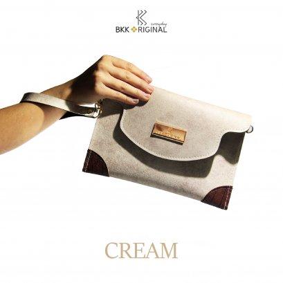 Tab Bag Cream