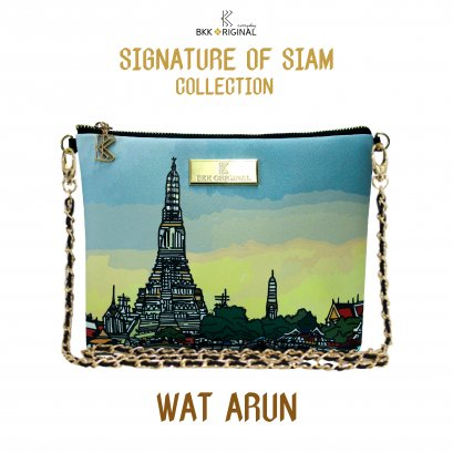 Signature of siam sling bag