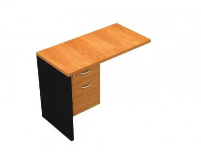 โต๊ะเสริมข้าง/ต่อข้างมีลิ้นชัก