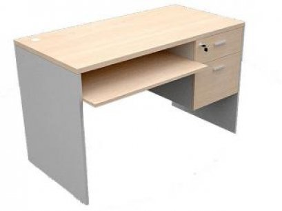 โต๊ะคอมพิวเตอร์ 2 ลิ้นชักขวา